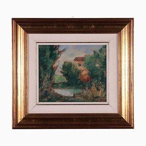 Raul Viviani, Landscape, Oil on Canvas