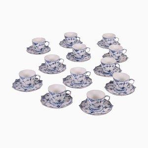 Series 1038 Coffee Cups Set from Royal Copenhagen