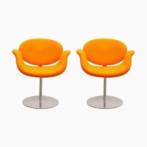 Orange Tulip Swivel Chair by Pierre Paulin for Artifort, 1980s