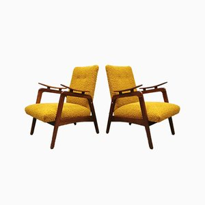 Mid-Century Dutch Cocktail Club Chairs, Set of 2