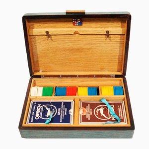 Italian Wooden Game Box, 1940s