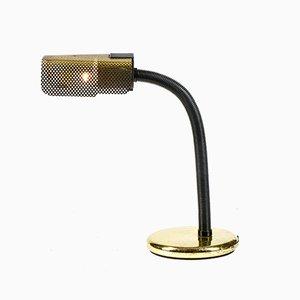 Metal and Plastic Black Gold Lamp