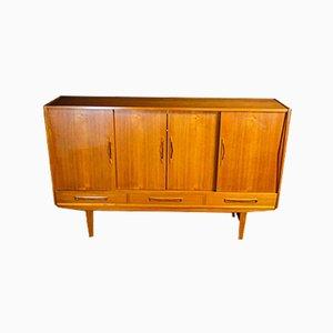 Mid-Century Dresser with Mirror, 1960s