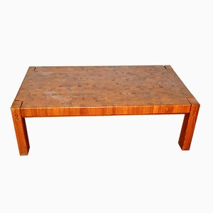 Table Basse en Pin, Danemark, 1970s