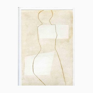 Unknown, Body Shape, Original Etching and Drypoint, Mid-20th-Century