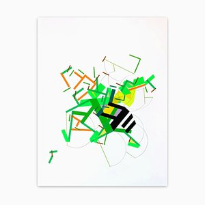 A Fiiane Was Ilaand 7, Abstract Painting, 2021