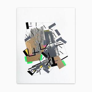 Into the Faiinn 4, Abstract Painting, 2021