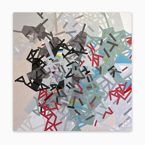 Naawad in Gravii, Abstract Painting, 2021
