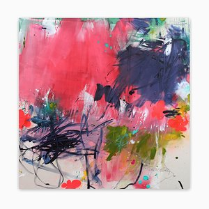 Blumenwiese II, Abstract Painting, 2021