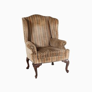 George III Style Wing Back Armchair