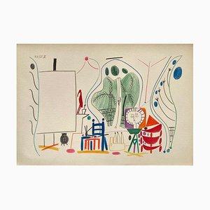 Carnet De Californie 29, Arches, Pablo Picasso, 1959