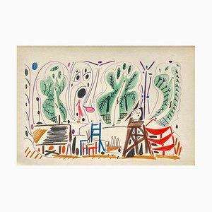 Carnet De Californie 27, Arches, Pablo Picasso, 1959