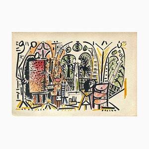 Carnet De Californie 15, Arches, Pablo Picasso, 1959