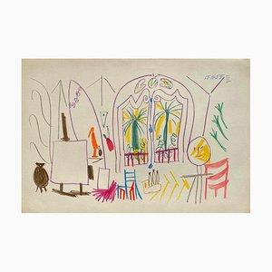 Book of CA 34, Arches, Pablo Picasso, 1959