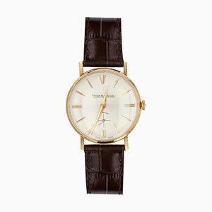 18 Karat Yellow Gold Jaeger Lecoultre Men Wristwatch, 1950s