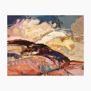 Jean Krillé, Ciel en mouvement Tableau N°72, 1989