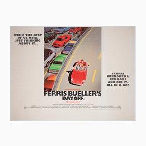 Ferris Bueller's Day Off, UK Quad Film Movie Poster, 1986
