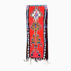 Moroccan Boucherouite Carpet