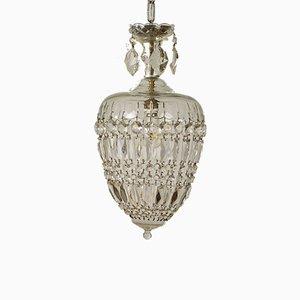 Bohemian Jellyfish Ceiling Lamp, 1950s