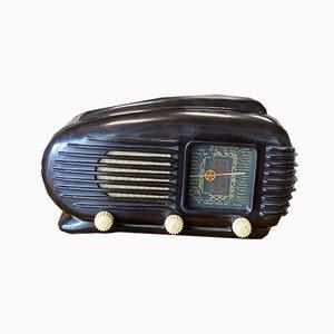 Streamlined Talisman Radio in Bakelite from Tesla, 1950s