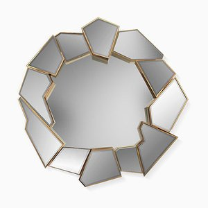 Cracle Round Mirror from Covet Paris