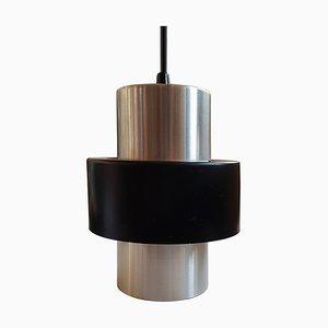 Mid-Century Aluminium Pendant Lamp, 1960s