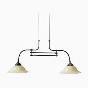 Vintage Double Pendant Lamp