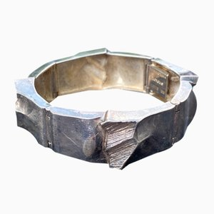 Braccialetto in argento di Matti Hyvarinen per Sirokoru Finland