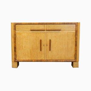 Art Deco Oak and Walnut Sideboard