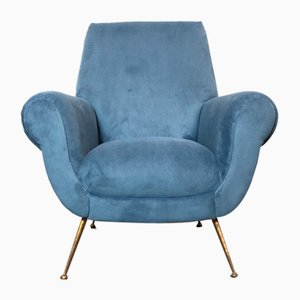 Italian Lounge Chair by Gigi Radice for Minotti, 1959