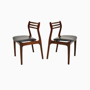Danish Chairs by P. E. Jørgensen for Farso Stolefabrik, Set of 2