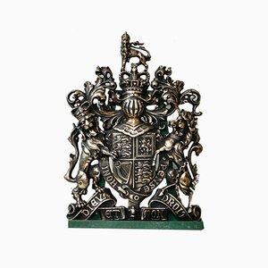 Bronze Royal Coat of Arms