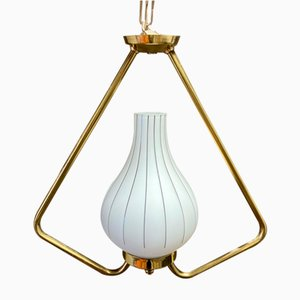Scandinavian Ceiling Lamp, 1950s