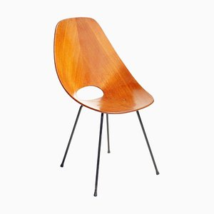 Medea Italian Plywood Chair by Vittorio Nobili for Fratelli Tagliabue, 1950s