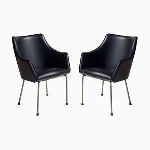 Mid-Century P20 Chairs by Osvaldo Borsani for Tecno, 1955, Set of 2