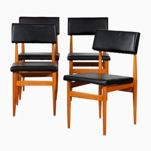 Vintage Chairs, Czechia, 1970s, Set of 4