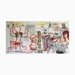 Keith Haring Bad Trip Blanc by Kokian, 2010