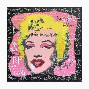Pink Marilyn, Black Side Behind by Kokian, 2010