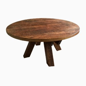 Vintage Oak France Coffee Table