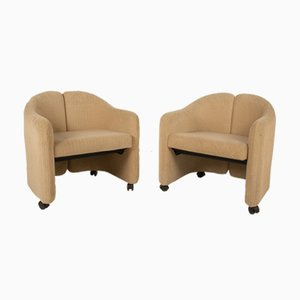 Armchairs by Eugenio Gerli, Set of 4