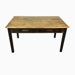 Vintage Oak Desk from Abbess, 1950s