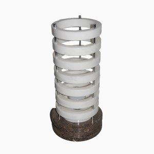Lampe de Bureau Ring avec Base en Marbre, 1960s