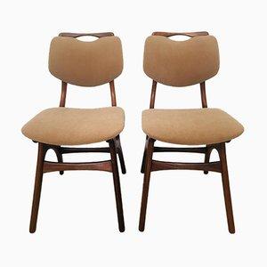 Dutch Teak Chairs from Pynock Wierden, 1960s, Set of 2