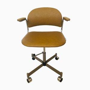 Mustard Model K-385 Office Chair from Kovona, 1970