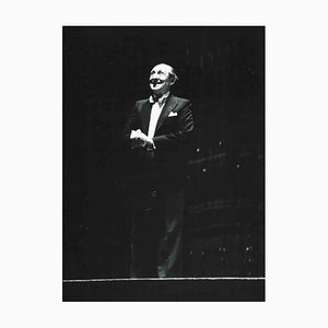 Unknown, Portrait of Vladimir Horowitz, Black & White Photograph, 1985