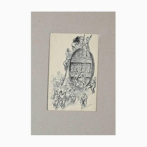Unknown, Harvest, Original Etching and Drypoint, Early 20th-Century