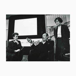 Unknown, Vladimir Horowitz, Black & White Photograph, 1985
