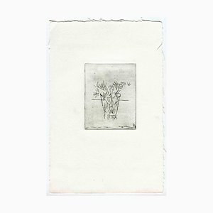 Unknown, The Vase, Original Etching and Drypoint, Mid-20th-Century