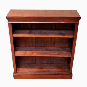 Edwardian Mhogany Open Bookcase