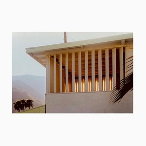 Colony at Dusk, Palm Springs, California, Mid-Century Architecture Photography, 2001